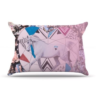 Unicorn by Vasare Nar Featherweight Pillow Sham Size: Queen, Fabric: Woven Polyester