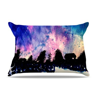 First Snow Pillow Case Size: King