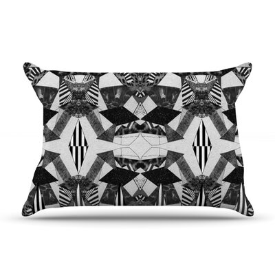Tessellation by Vasare Nar Featherweight Pillow Sham Size: King, Fabric: Woven Polyester