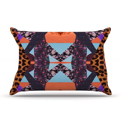 Pillow Kaleidoscopic Pillow Case Size: Standard