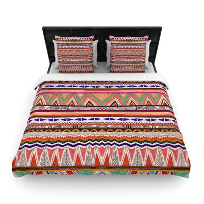 Native Tessellation Woven Comforter Duvet Cover Size: Full/Queen