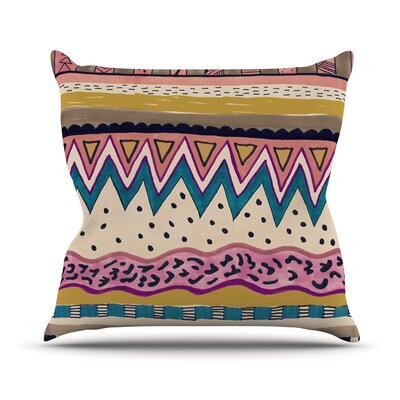 Koko Throw Pillow Size: 16 H x 16 W