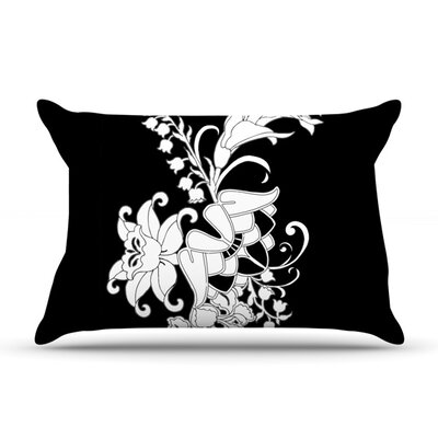 My Garden by Vikki Salmela Featherweight Pillow Sham Size: Queen, Fabric: Woven Polyester