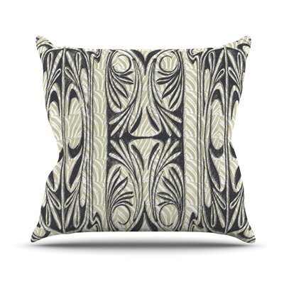 The Palace Throw Pillow Size: 16 H x 16 W