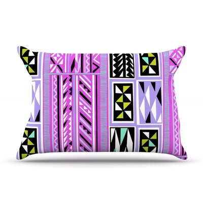 American Blanket Pattern II by Vikki Salmela Featherweight Pillow Sham Size: Queen, Fabric: Woven Polyester