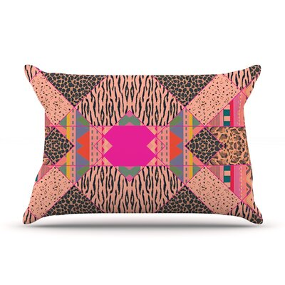 New Wave Zebra by Vasare Nar Featherweight Pillow Sham Size: King, Fabric: Woven Polyester