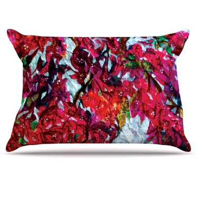 Bougainvillea Pillowcase Size: King