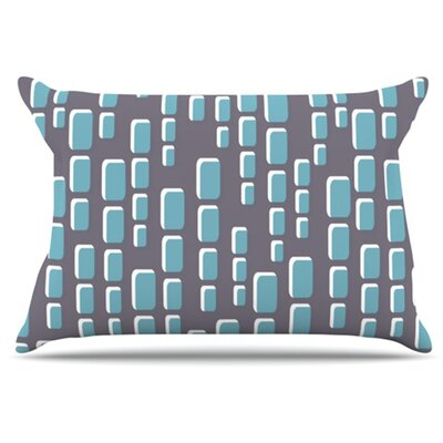 Cubic Geek Chic Pillowcase Size: Standard