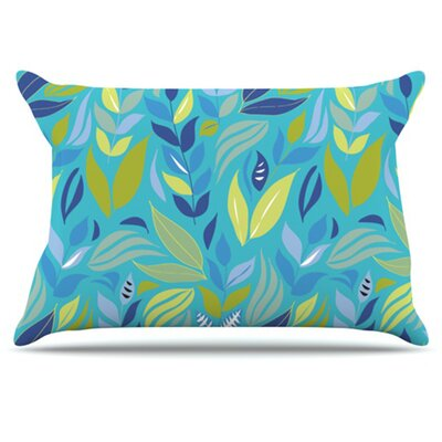 Underwater Bouquet Pillowcase Size: King
