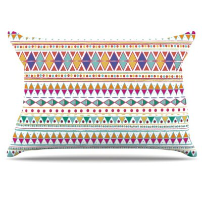 Native Fiesta Pillowcase Size: Standard