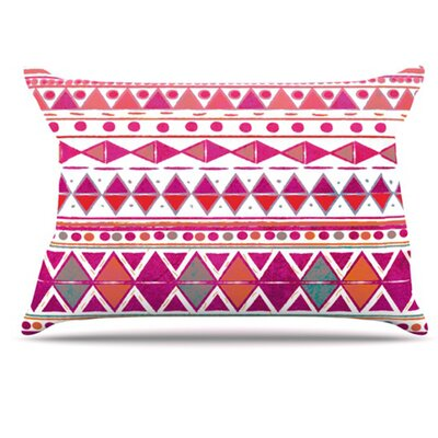 Summer Breeze Pillowcase Size: King