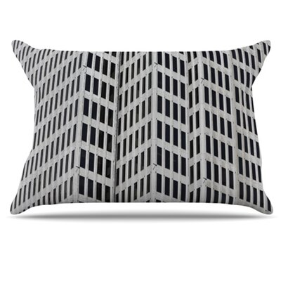 The Grid Pillowcase Size: King