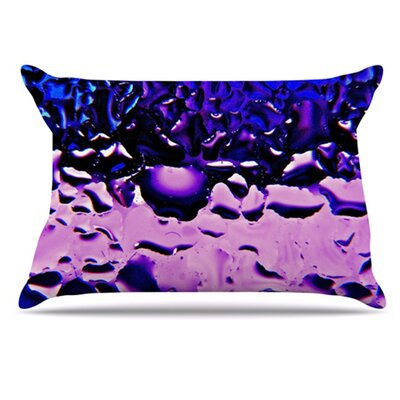 Window Pillowcase Color: Purple, Size: King