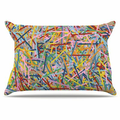 More Sprinkles Pillowcase Size: King
