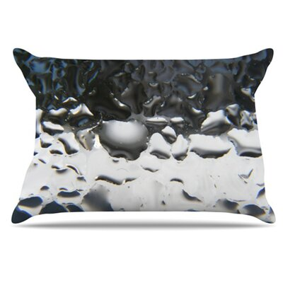 Window Pillowcase Size: King, Color: Grey