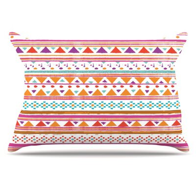 Native Bandana Pillowcase Size: Standard