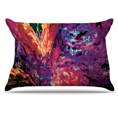 Passion Flowers II Pillowcase Size: Standard