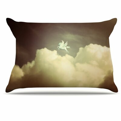 Pegasus Pillowcase Size: King