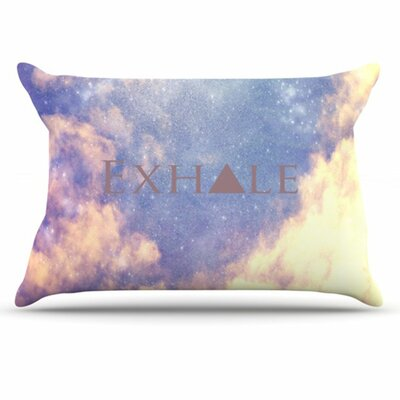 Exhale Pillowcase Size: Standard
