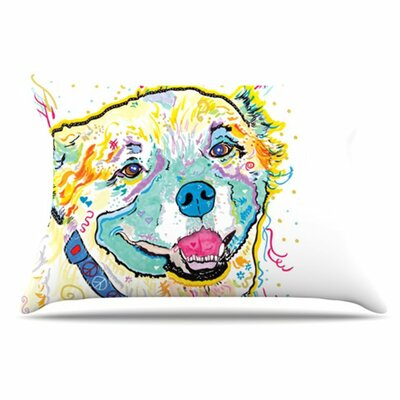 Milo Pillowcase Size: King