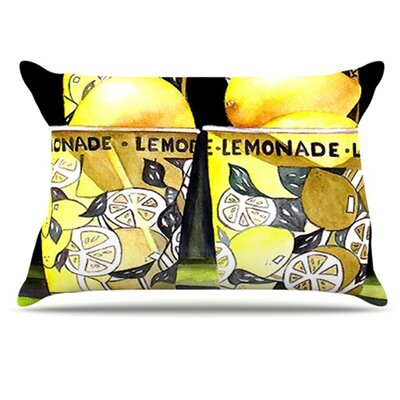 Lemonade Pillowcase Size: Standard