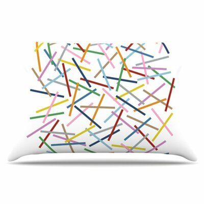 Sprinkles Pillowcase Size: Standard