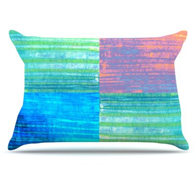 Crayon Batik Pillowcase Size: Standard