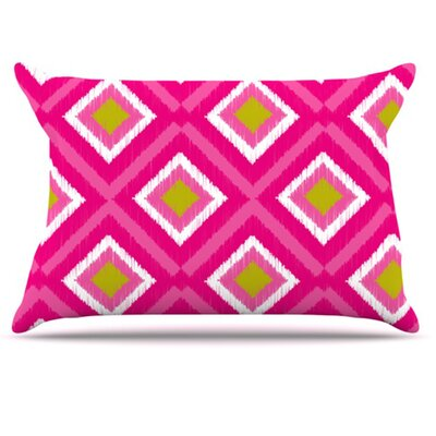Moroccan Tile Pillowcase Size: King