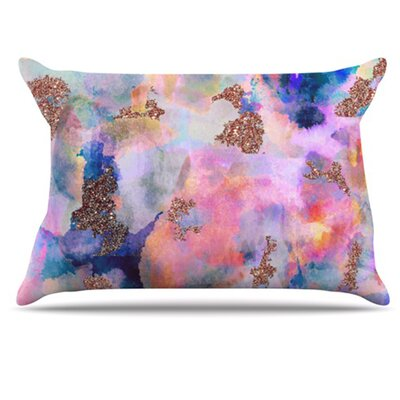 Sparkle Mist Pillowcase Size: Standard