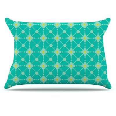 Hive Blooms Pillowcase Size: Standard
