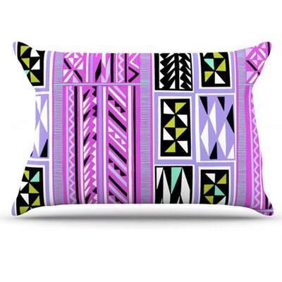 American Blanket Pattern II Pillowcase Size: King
