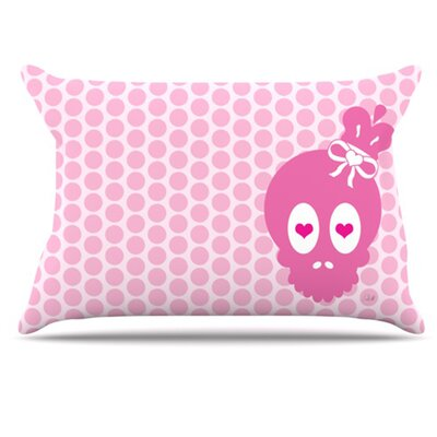 Skull Pillowcase Size: King