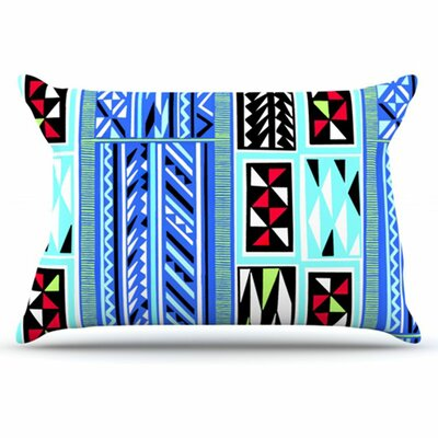 American Blanket Pattern Pillowcase Size: King