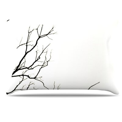 Winter Pillowcase Size: Standard, Color: White