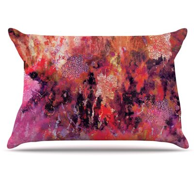 Indian City Pillowcase Size: King