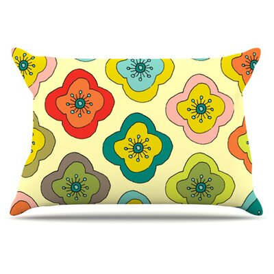 Forest Bloom Pillowcase Size: Standard