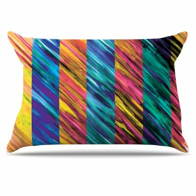 Set Stripes I Pillowcase Size: King