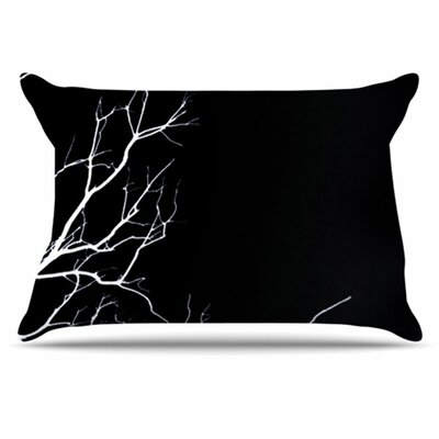 Winter Pillowcase Size: King, Color: Black
