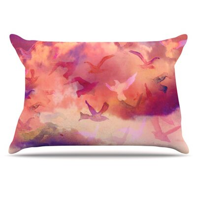 Souffle Sky Pillowcase Size: King