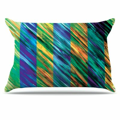 Set Stripes II Pillowcase Size: King