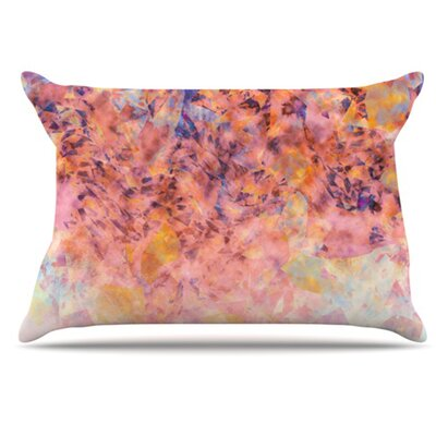 Blushed Geometric Pillowcase Size: Standard