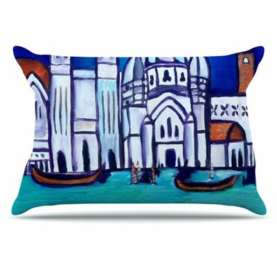 Venice Pillowcase Size: Standard