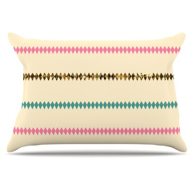 Diamonds Pillowcase Size: Standard