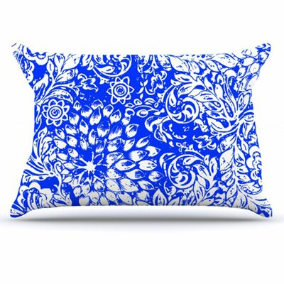 Bloom Blue for You Pillowcase Size: Standard