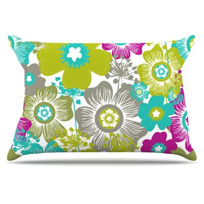 Little Bloom Pillowcase Size: King
