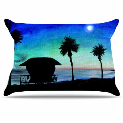 Carlsbad State Beach Pillowcase Size: King
