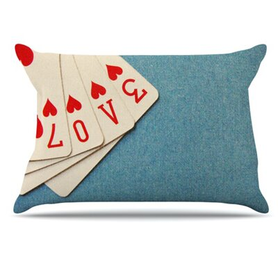 Love Pillowcase Size: King