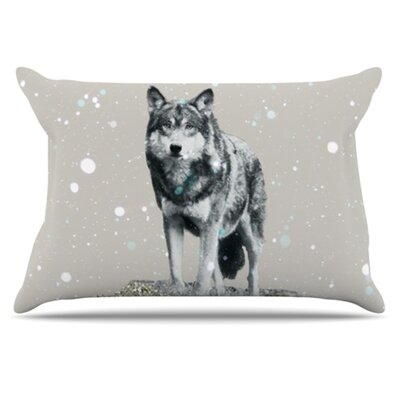 Wolf Pillowcase Size: Standard