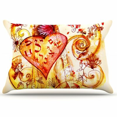 Tree of Love Pillowcase Size: Standard