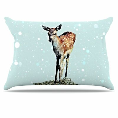 Fawn Pillowcase Size: Standard